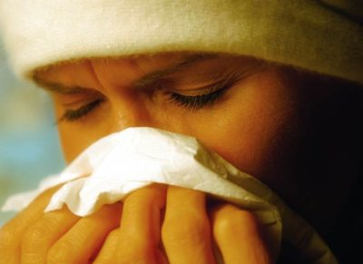 Illustration of Nasal Congestion, Feels Slimy When In Cold Weather?