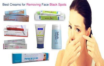 Illustration of The Use Of Black Spots Remover Ointment On The Face?