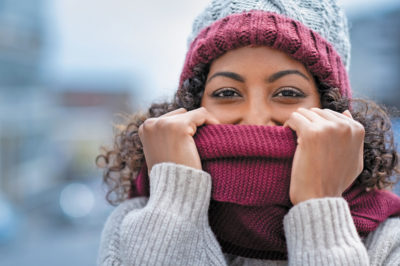 Illustration of Difficulty Breathing Through The Nose When The Temperature Is Cold Accompanied By Reddish Itchy Rashes?