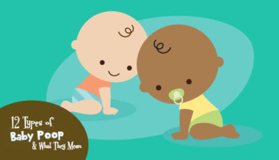 Illustration of The 11-month-old Baby Comes Out Green And Sticky?