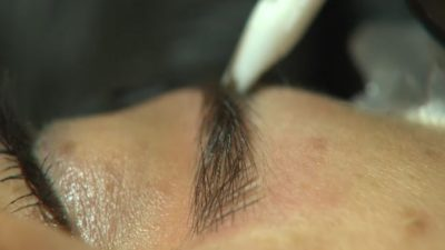 Illustration of Danger Of Eyebrow Embroidery And Its Impact On Health?