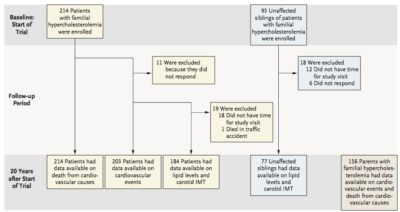 Illustration of How Long Is The Intervention Time For The Thesis Hypercholesterolemia Subjects?