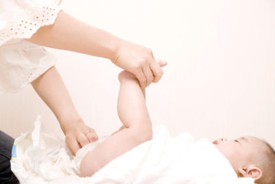 Illustration of How To Deal With Abrasions In Newborns Because Of Diarrhea Often?