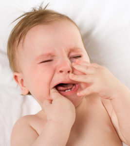 Illustration of Child's Gums Are Swollen Due To The Growth Of Baby Teeth?