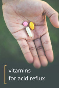 Illustration of Consumption Of Vitamins In People With Stomach Acid?