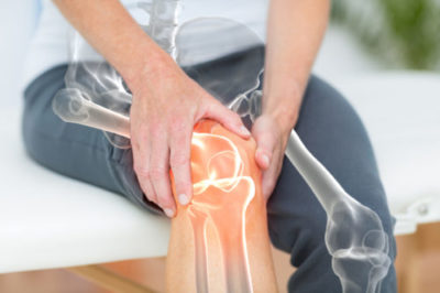 Illustration of Pain In The Knee Due To Accidents And Collisions?