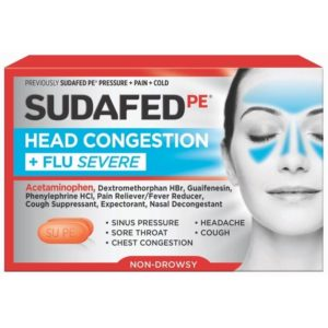 Illustration of Medication To Treat Colds, Coughs And Headaches?