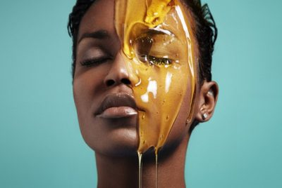 Illustration of If Treating Your Face With Honey At The Age Of 24 Is Good?