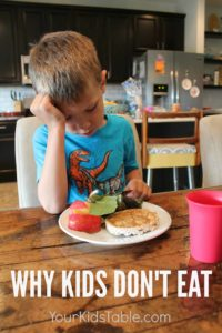 Illustration of Children Are Weak And Don't Want To Eat?