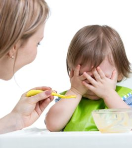 Illustration of Decreased Baby's Appetite, Weight Loss And The Baby Vomits After Eating?