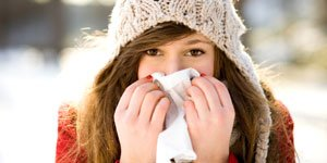 Illustration of How To Deal With Cough Due To Exposure To Cold Water?