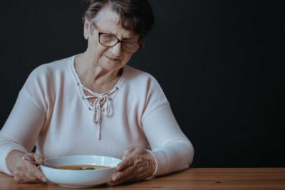 Illustration of Elderly Who Can Not Sleep And Have Too High Appetite?