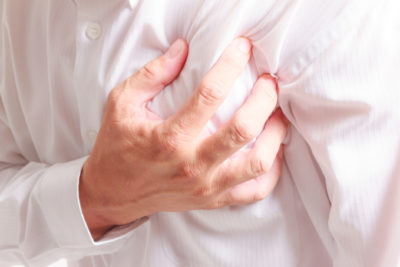 Illustration of Left Chest Pain Radiating To The Armpits To The Shoulders?