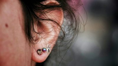 Illustration of Fluid Out Of The Ear Because Of Piercing.?