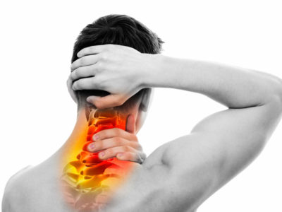 Illustration of Neck Pain After Consumption Of Chicken Liver And Shrimp?