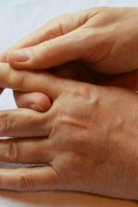 Illustration of Your Fingers Are Often Stiff After You Move?
