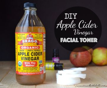 Illustration of The Use Of Apple Cider Vinegar For Sensitive And Oily Faces?
