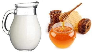 Illustration of Drink Milk After Drinking Honey To Fatten The Body?