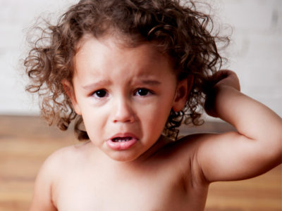 Illustration of Causes And Overcoming A 2-year-old Child Difficult BAB?