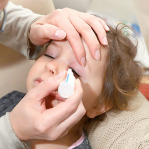 Illustration of Is It Safe For Nursing Mothers To Use Eye Drops For (keratitis) And What Are The Effects On The Baby?