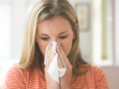 Illustration of The Cause Of Blood Loss When Blowing Nose, Coughing Up Vomiting, Cold And Shivering?