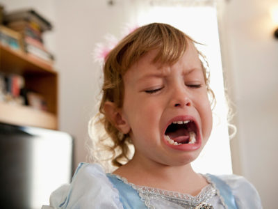 Illustration of 3-year-old Children Are Often Angry?