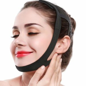 Illustration of Streamlining The Face With A Slimming Belt Face?