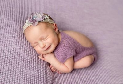 Illustration of 0 Month Babies Often Laugh While Sleeping?