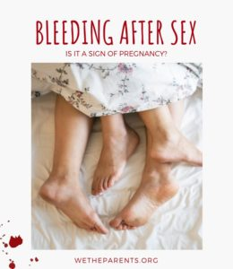 Illustration of Bleeding After Intercourse While 13 Weeks Pregnant?