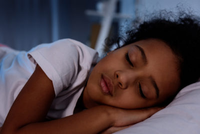 Illustration of Face Your Child Sleeping?