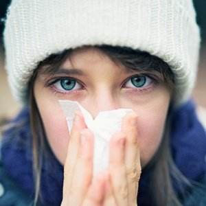 Illustration of Nose Hurts When Exposed To Dust, Cold Weather Accompanied By Headaches To Watery Eyes?