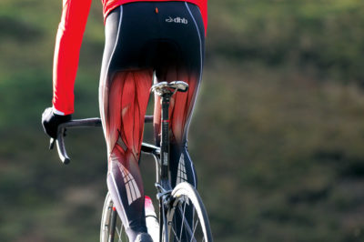 Illustration of Cycling When Suffering From A Hamstring Injury?