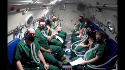 Illustration of Every Few Months A Diver Must Get MCU And Hyperbaric Therapy?