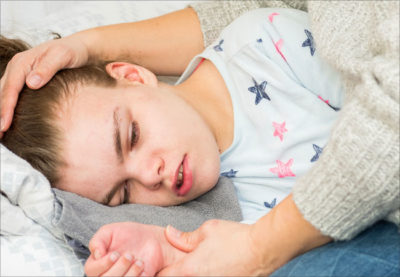 Illustration of First Aid For Children Who Have Convulsions During A Fever?