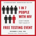 HIV Testing Is Usually Done At The Health Center?