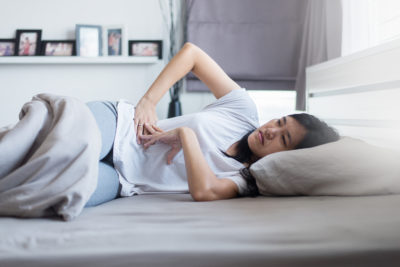 Illustration of Menstruation Is Not Smooth And Often Low Back Pain In Patients With Ovarian Cysts?