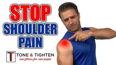 Illustration of Pain In The Shoulder After Exercising?