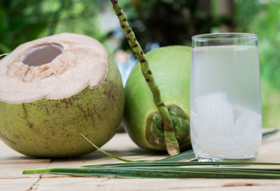 Illustration of Consumption Of Green Coconut Water After Vaccination?