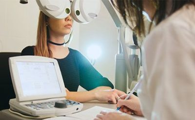 Illustration of Are Eye Examinations At The Hospital Better Than At The Optics?