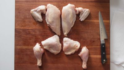 Illustration of Eat Chicken Pieces After Surgery KET?
