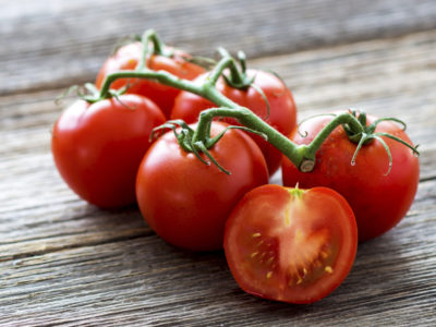 Illustration of Tomatoes As A Snack During Menstruation?