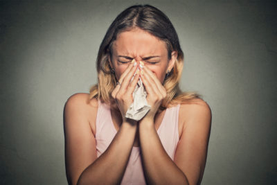 Illustration of Something Comes Out When You Sneeze?