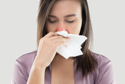 Illustration of Nasal Congestion Accompanied By Prolonged Shortness Of Breath?