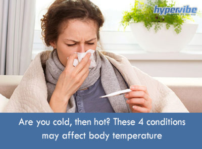 Illustration of Cause The Body Sometimes Hot Sometimes Cold?