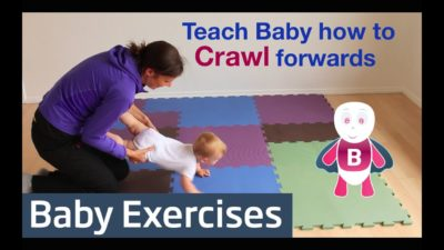 Illustration of Stimulation Of Children Aged 9 Months To Crawl Quickly?