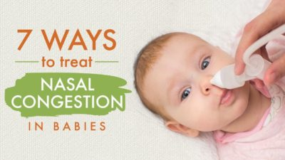 Illustration of Mucus In The Nose Of 2-month-old Babies?