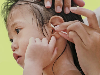 Illustration of Brown Liquid Comes Out Of The Ears Of Children 18 Months After Possessing Foreign Matter?