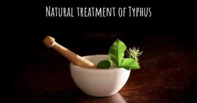 Illustration of Natural Treatment For Typhus?