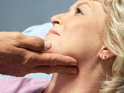 Illustration of Lumps In The Left Neck Accompanied Easily Tired And Sweat At Night?