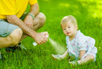 Illustration of Babies Eat Electric Mosquito Repellent?